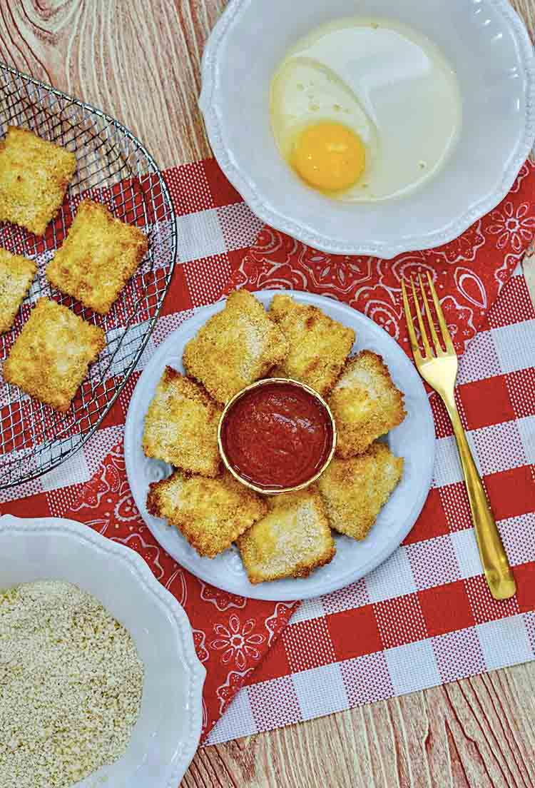 Air Fryer Ravioli Recipe