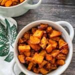 Air Fryer butternut squash in this list of Air Fryer Paleo Recipes