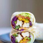 Air Fryer Tofu Wrap