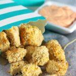 Air Fryer Popcorn Tofu
