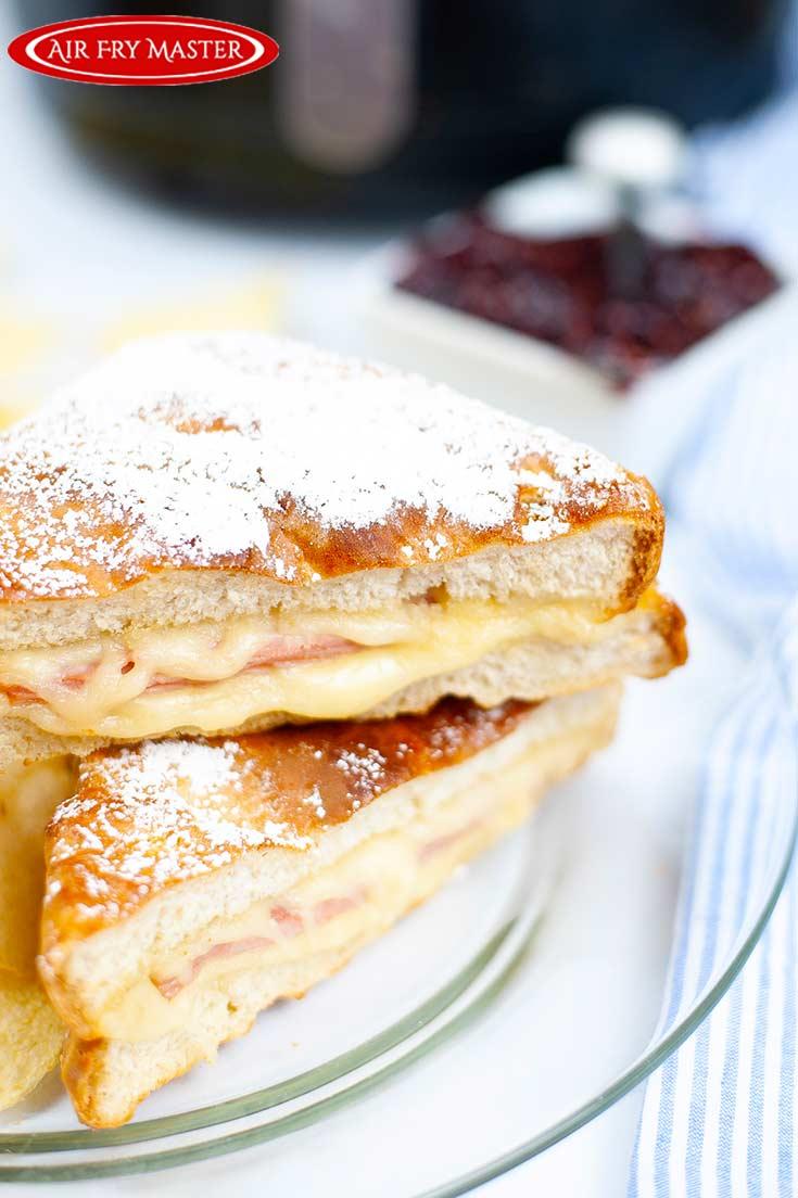 Air Fryer Monte Cristo Sandwich Recipe